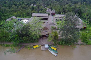 Heliconia Lodge - On the shore of the Amazon River